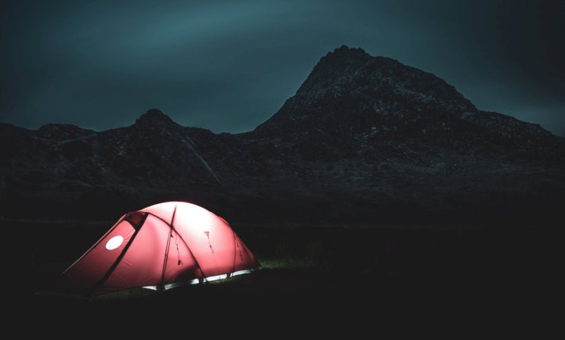 Wild camping, also known as 'fly camping', is currently illegal in Wales and England